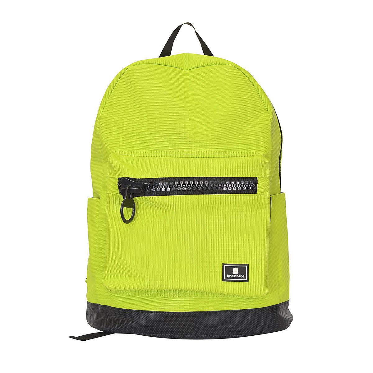 Lime Green Backpack – Zipper Bags 9cafda81c